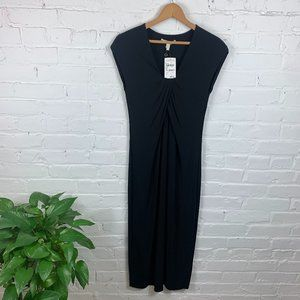 Twenty8twelve Sleeveless Draped Dress Black Size 4
